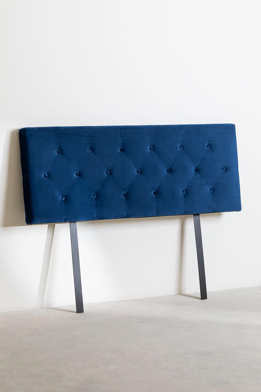 Velvet headboard Tonie, gallery image 1