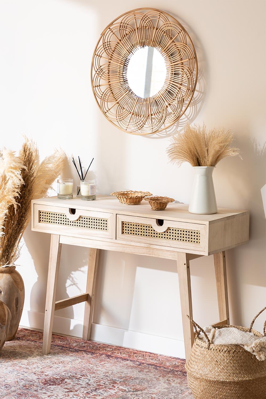 Wooden Hallway Sideboard Ralik Style , gallery image 1