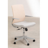 Office Chair with casters Yener , thumbnail image 2