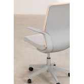 Office Chair with casters Yener , thumbnail image 4