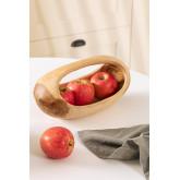 Jayat Wood Fruit Bowl, thumbnail image 1