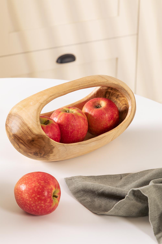 Jayat Wood Fruit Bowl, gallery image 1