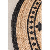Round Natural Jute Rug (Ø100 cm) Tricia, thumbnail image 2
