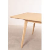 Extendable wooden dining table (180-230 X 100 cm) Ebis, thumbnail image 5