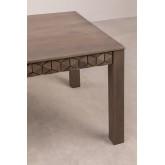 Rectangular Mango Wood Dining Table (180x90 cm) Albi, thumbnail image 4
