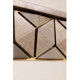 Rectangular Mango Wood Dining Table (180x90 cm) Albi, thumbnail image 6