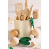 Assortment of Food in Wood Bueni Kids, thumbnail image 2