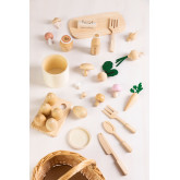 Assortment of Food in Wood Bueni Kids, thumbnail image 5