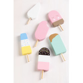 Kalis Wooden Ice Cream 6 Pieces Kids, thumbnail image 1