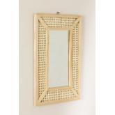 Rectangular Wall Mirror in Wood (60x40 cm) Frey, thumbnail image 2