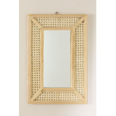 Rectangular Wall Mirror in Wood (60x40 cm) Frey, thumbnail image 3