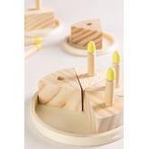 Karrot Kids Wooden Toy Cake, thumbnail image 4