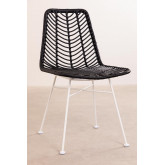 Synthetic Rattan Dining Chair Gouda Colors, thumbnail image 1