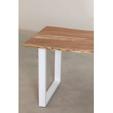 Rectangular Dining Table in Recycled Wood 180 cm Sami, thumbnail image 5