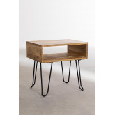 Tital Recycled Wood Nightstand, thumbnail image 2