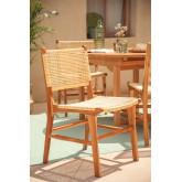 Catua Garden Chair in Teak Wood, thumbnail image 1