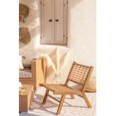 Ayat Garden Chair in Synthetic Wicker , thumbnail image 1