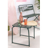 Square Outdoor Steel Side Table  Janti, thumbnail image 1