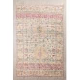 Jute and Fabric Rug (284x174 cm) Demir, thumbnail image 1