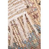 Jute and Fabric Rug (284x174 cm) Demir, thumbnail image 3