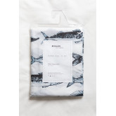 Shower Curtain with Magic System in Dorie Fabric, thumbnail image 6