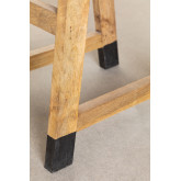 Low Wooden Stool Pid , thumbnail image 6