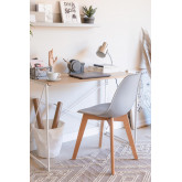 Pack of 4 Scand Nordic dining chairs, thumbnail image 2