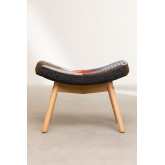 Morris Patchwork Upholstered Footstool , thumbnail image 4