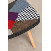 Morris Patchwork Upholstered Footstool , thumbnail image 5