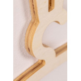 Pack of 3 Buny Natural Kids Wooden Hangers, thumbnail image 3