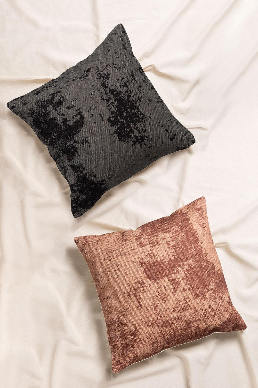 Square Cotton Cushion (50x50 cm) Tak, gallery image 1