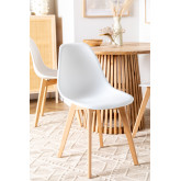 Pack of 2 Scand Scandinavian Dining Chairs, thumbnail image 6