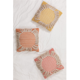 Square Cushion in Cotton (45x45 cm) Fiby, thumbnail image 1