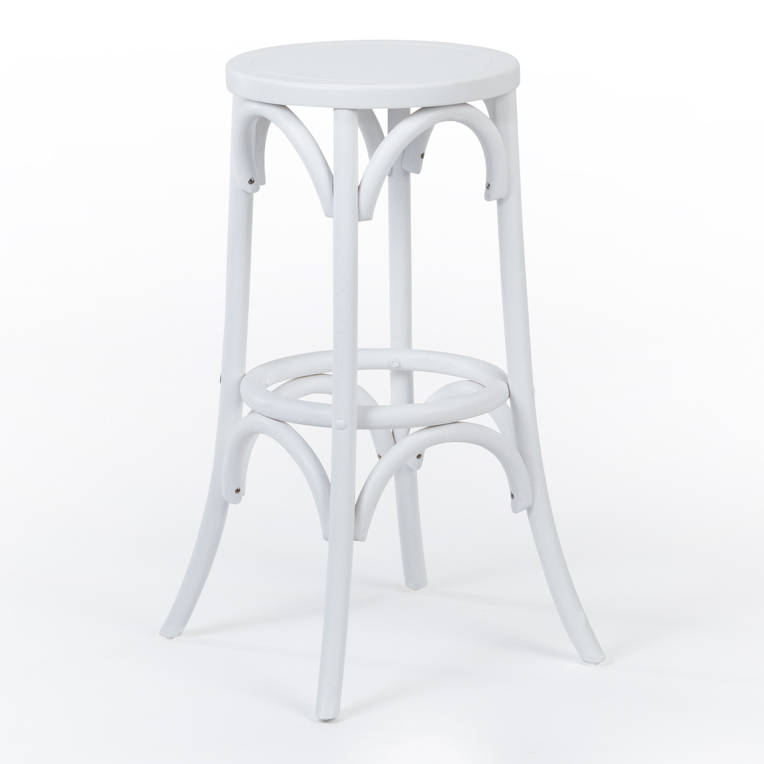 Thon Wood High Stool, gallery image 1