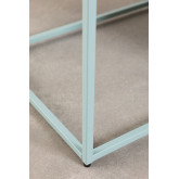 Coffee Table with Magazine Rack in Metal Blas, thumbnail image 6