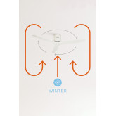 WINDCALM DC - Ultra-Silent Winter - Summer Function Ceiling Fan - Create, thumbnail image 5