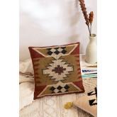 Isset Square Cotton Cushion (45x45 cm) , thumbnail image 1