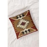 Isset Square Cotton Cushion (45x45 cm) , thumbnail image 2