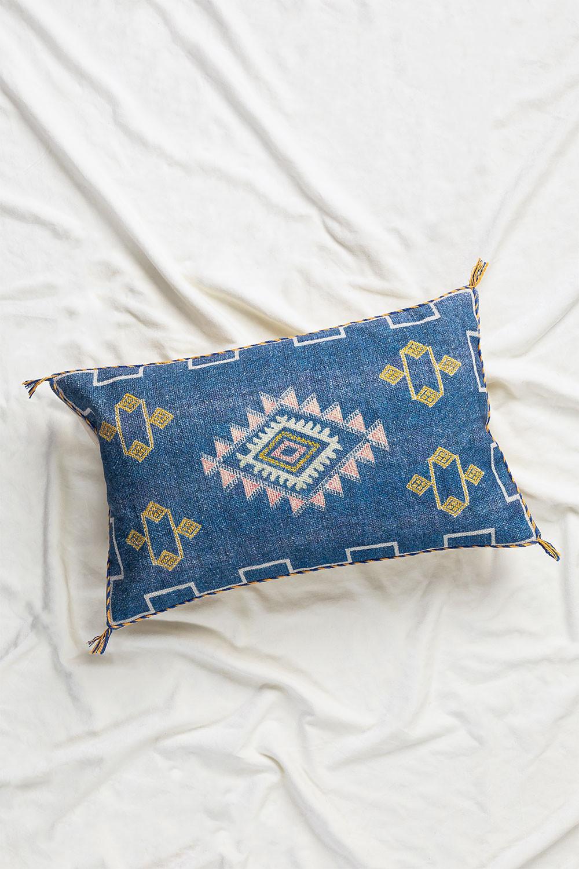 Uet Rectangular Cotton Cushion (40x60 cm) , gallery image 1
