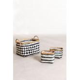 Set of 3 Thais Baskets, thumbnail image 1