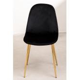 Glamm Velvet Chair , thumbnail image 4