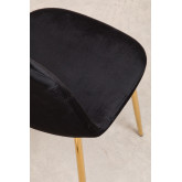 Glamm Velvet Chair , thumbnail image 5