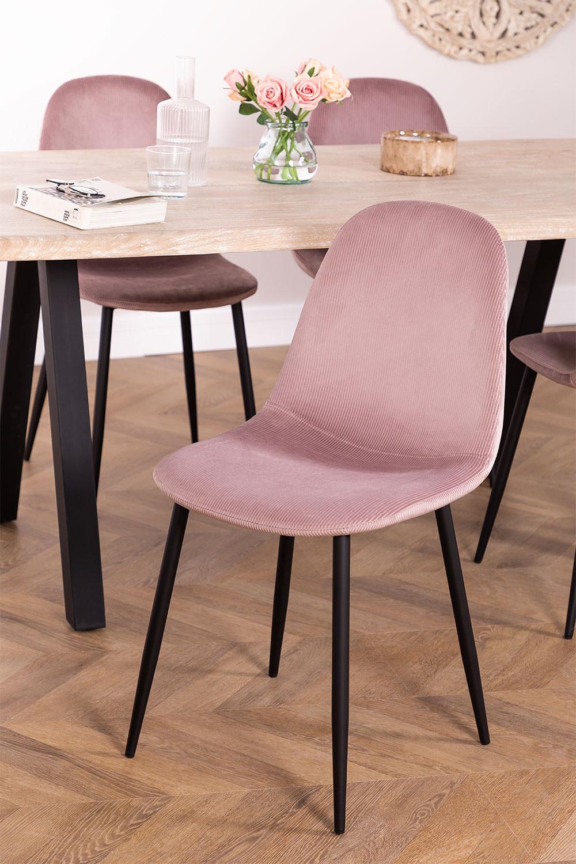 Corduroy Glamm Chair, gallery image 1