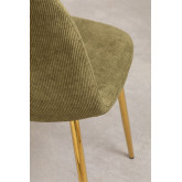 Pack 4 Chairs in Corduroy Glamm, thumbnail image 3