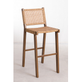 High Stool in Synthetic Wicker Ori, thumbnail image 2