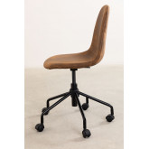 Glamm Leatherette Desk Chair, thumbnail image 4