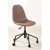 Glamm Leatherette Desk Chair, thumbnail image 1