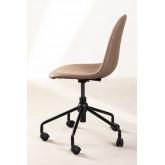 Glamm Leatherette Desk Chair, thumbnail image 2