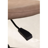 Glamm Leatherette Desk Chair, thumbnail image 5