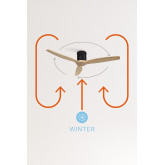 WINDCALM DC - Ultra-Silent Winter - Summer Function Ceiling Fan - Create, thumbnail image 6